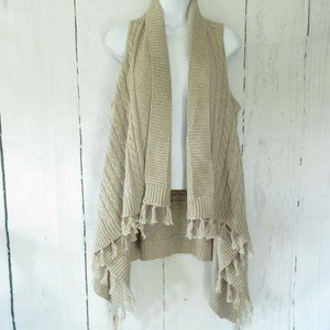 Matilda Jane Minds Eye Sweater Vest Fringe Cable